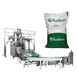 Automatické hromadné balenie stroje pre mlieko prášok v 10kg 25kg tašky