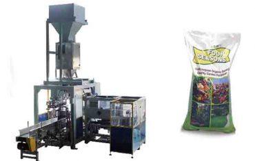 automatické baliace stroje na balenie hnojív s kapacitou 50 kg
