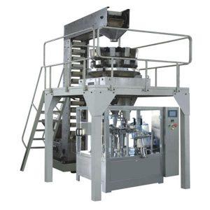 Automatické Premade Granule Vážiace plnenie a tesnenie výrobnej linky