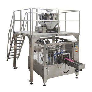 Automatické rotačné balenie potravín stroj pre vrecko na zips