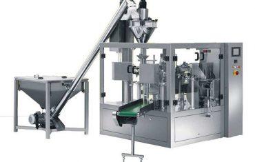 automatické rotačné korenie práškové plniace baliace stroje