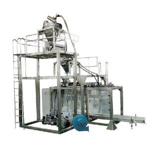 Big Bag automatická prášková váha plniaca stroj balenia mlieka prášok