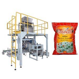 Big Bag granulárne ťažké vrecia Baliaci stroj rýže pre 10kg-50