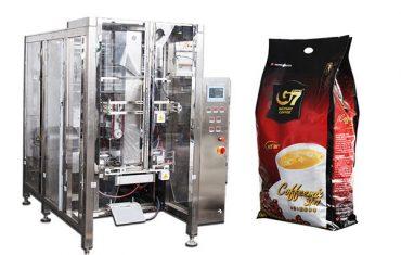 automatické štvorcový tesniaci vak baliaci stroj volumetrický pohár plniaceho stroja