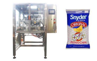 nepretržitý pohyb zvislý potravinársky obal na balenie granulov