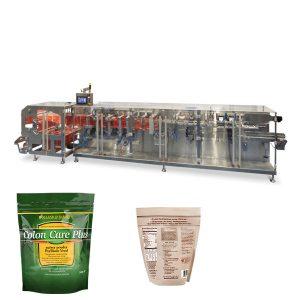 Doypack práškový granulát balenie horizontálne formy plniace tesniaci stroj