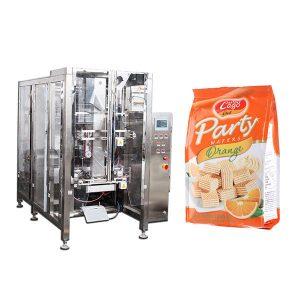 Plnoautomatické potravinárske Quad Seal Bag Bag Packing Machine