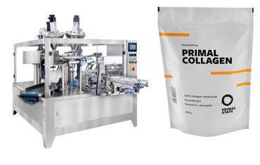 práškové automatické vrecko plniace baliace stroje
