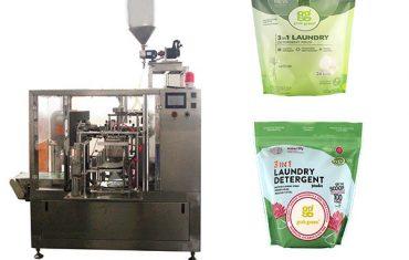 pranie kvapaliny rotačné premade balenie vrecka stroje