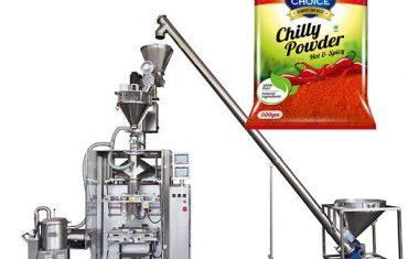 vffs bagger baliaci stroj s plniacou šnúrou pre papriku a chilli prášok