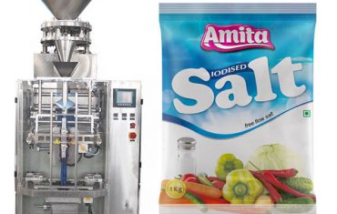 vertikálne automatické sáčkové vrecko na balenie soli