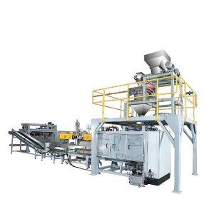 ZTCP-50P Automatické tkané vrecia baliace stroje pre prášok
